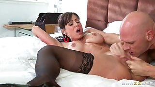 Petite aggressive curve Kendra Have a yen for fucks her friend Johnny Sins