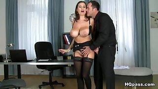 Hottest pornstars Coarse Jane, James Brossman in Horny Big Tits, MILF dealings clip