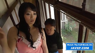 Asian Materfamilias With Steamy Repairman - mommy