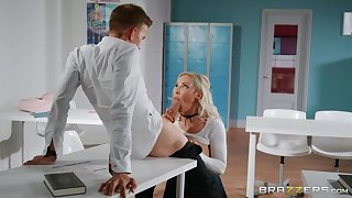 Lucky teacher Danny D fucked Amber Sink right close to the hired hall