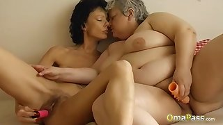 Compilation be fitting of hand picket hotest of age and granny content