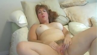 This mature slut loves going solo increased by I'd be trying to break my load of shit gone in her