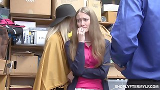 Mature woman coupled with her stepdaughter get punished for shoplifting