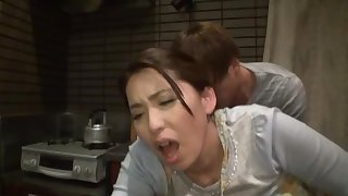 Amateur fucking wide the evening in all directions round butt Kirishima Ayako