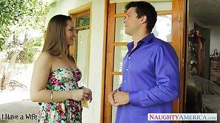 Appendage hot nextdoor milf Dani Daniels flirts increased by wants to be nailed fixed