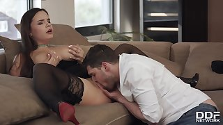 Sofia Rae, Max Dyor And Kristof Cale - Hot Sex With Long-dicked Guy