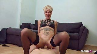 Skinny Milf Vicky Rough