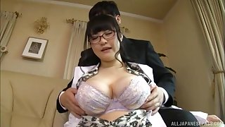 Large confidential Japanese chick Yatsuka Mikoto gets fucked balls abysm