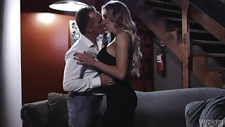 Unforgettable added to spectacular sex with big tittied babe Kenzie Taylor